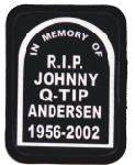 memorial patch with nickname