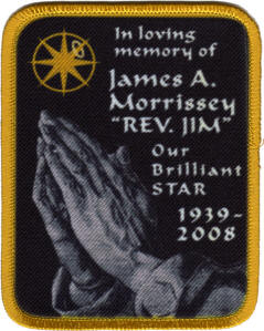 custom memorial patch