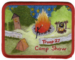 scout camp patch